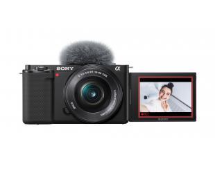 Fotoaparatas SONY ZV-E10LBDI, vaizdo tinklaraščių kamera