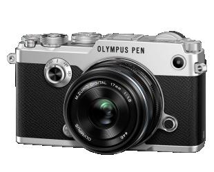 Fotoaparatas OLYMPUS PEN-F 1718Kit sidabrinis/juodas