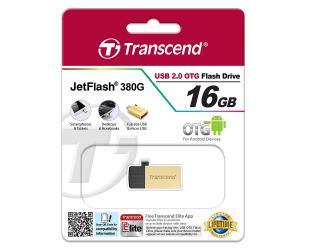 USB raktas TRANSCEND JF380G, 16GB