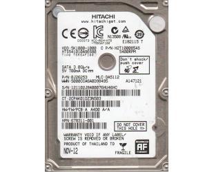 Standusis diskas HITACHI Z5K500 2.5 1TB SATA, 7mm