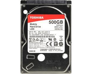 "Standusis diskas TOSHIBA L200 2.5"", 500GB"