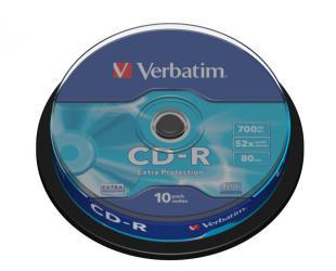 Diskas VERBATIM CD-R 43437, 10vnt