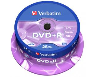 Diskas VERBATIM DVD+R 43500, 25vnt