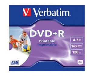 DVD Diskas VERBATIM DVD+R Printable, 43508