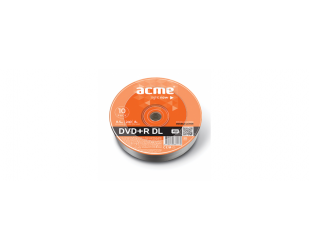 Diskas ACME DVD+R 8,5GB DL 8x, 10vnt