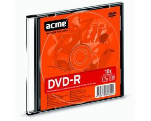 Diskas plonoje dėžutėje ACME DVD-R 4.7GB 16X