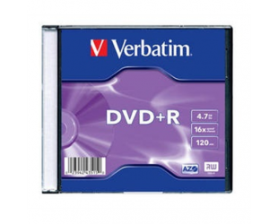 Diskas VERBATIM DVD+R, 43515
