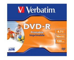 Diskas VERBATIM DVD-R PRINTABLE, 43520