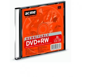 Diskas plonoje dėžutėje ACME DVD+RW  4,7GB 4X