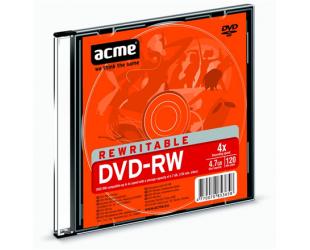 Diskas plonoje dėžutėje ACME DVD-RW 4,7GB 4X