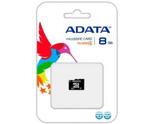 Atminties kortelė ADATA MicroSD 8GB, cl4