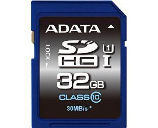 Atminties kortelė ADATA 32GB SDHC, UHS-I U1