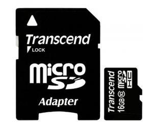 Atminties kortelė TRANSCEND microSDHC, 16GB