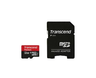 Atminties kortelė TRANSCEND 32GB microSDHC, UHS-I U1