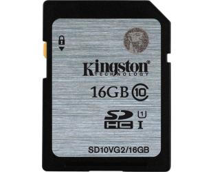 Atminties kortelė KINGSTON 16GB SDHC, UHS-I