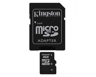 Atminties kortelė KINGSTON 8GB microSDHC, cl4
