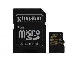 Atminties kortelė KINGSTON microSDHC, UHS-I U3