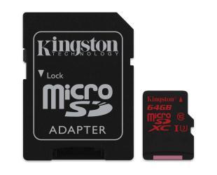 Atminties kortelė KINGSTON 64GB microSDXC, UHS-I U3