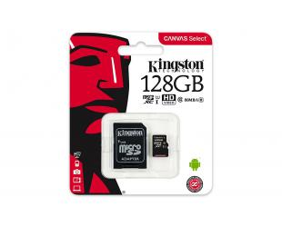 Atminties kortelė KINGSTON 128GB microSDXC, U1