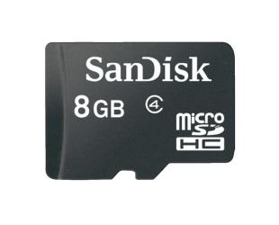 Atminties kortelė SANDISK MicroSDHC 8GB, cl4