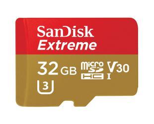 Atminties kortelė SANDISK 32GB microSD, V30