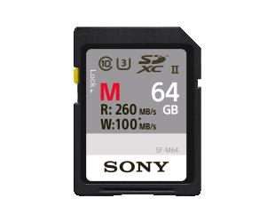Atminties kortelė SONY SF-M64 64GB SDXC UHS-II, U3, CL10