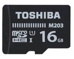 Atminties kortelė Toshiba 16GB microSDHC
