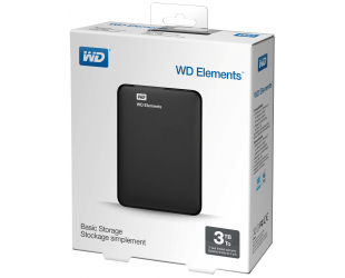 "Išorinis diskas WD Elements 2.5"", 3TB"