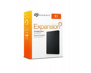 """Išorinis diskas SEAGATE Expansion 2.5"""" 1TB USB 3.0, juodas"""