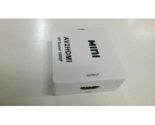 Signalo konverteris 3xRCA M - HDMI F, vienkryptis