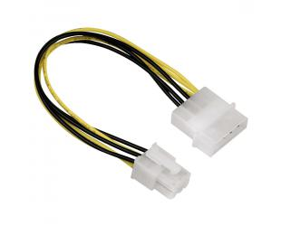 Adapteris HAMA 4-pin Molex - 6-pin PCI-E