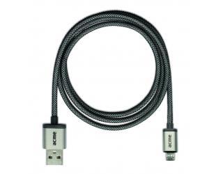 Laidas ACME CB02 USB A - microUSB B, 1 m.