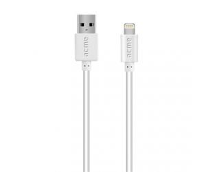 Laidas ACME CB1031W USB A - Lightning, 1 m.