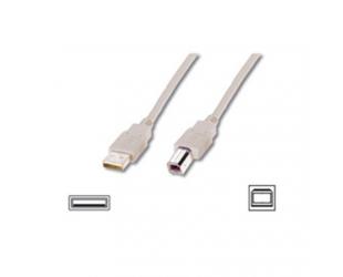 Laidas USB A - USB B, 2 m.