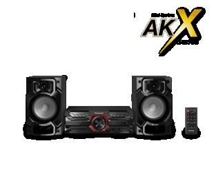 Muzikinis centras PANASONIC SC-AKX320E-K
