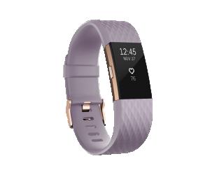 Išmanusis laikrodis Fitbit Charge 2 Lavender Rose Gold L
