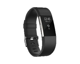 Išmanusis laikrodis Fitbit Charge 2 Black Silver S