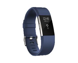 Išmanusis laikrodis Fitbit Charge 2 Blue Silver S
