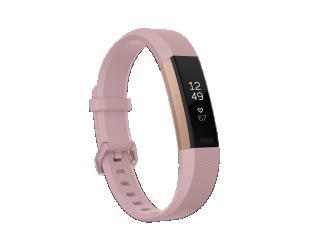 Išmanusis laikrodis Fitbit Alta HR Pink Rose Gold S