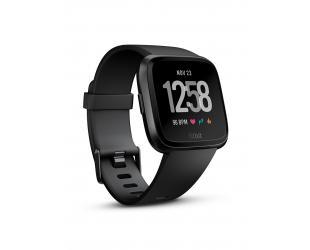 Išmanusis laikrodis Fitbit Versa (NFC),  Black Aluminum