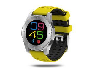 Išmanusis laikrodis DT No.1 GS8 2G nanoSIM, geltonas