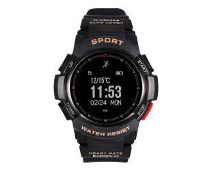 """Išmanusis laikrodis DT No.1 F6 0.96"""" IP68, juodas"""