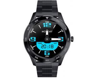 Išmanusis laikrodis DT NO.1 DT98 black steel IP68