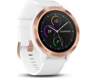Išmanusis laikrodis Garmin Vivoactive 3, GPS, baltas-rausvas