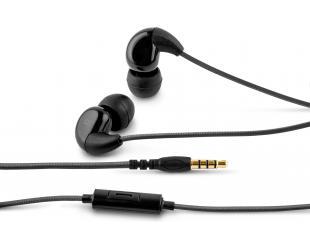 Ausinės su mikrofonu ACME HE16B Harmonic, juodos