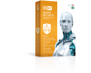 Antivirusinė programa ESET Smart Security 8 1 vartotojui, 12-18 mėn