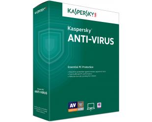 Antivirusinė programa KASPERSKY AV atnaujinimo licencija 2 vartotojams, 12 mėn.