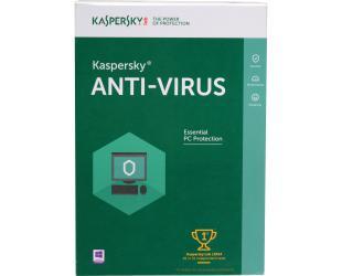Antivirusinė programa Kaspersky AV nauja licencija 2 vartotojams, 12 mėn.