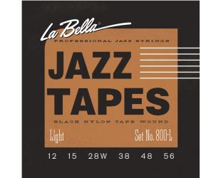Gitaros stygos La Bella Jazz Tapes 800L
