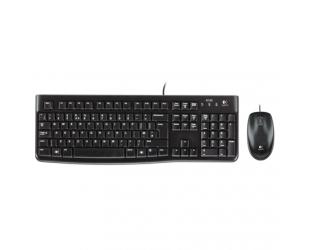 Klaviatūra+pelė LOGITECH MK120, US